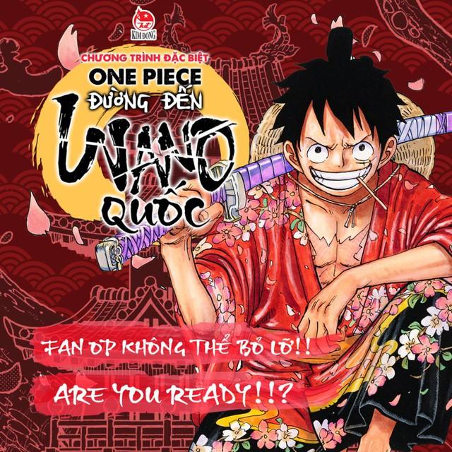 Đường đến Wano quốc – Siêu sự kiện tháng 9 dành riêng cho fan One Piece tại Hà Nội - Ảnh 4.