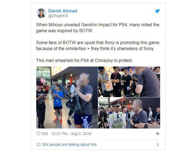 Xuất hiện thanh niên cục súc nhất năm: Đập nát PS4 Pro để phản đối game - Ảnh 2.