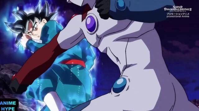 Tóm tắt Super Dragon Ball Heroes tập 15: Goku sử dụng Bản năng vô cực đánh bại Kamioren - Ảnh 2.