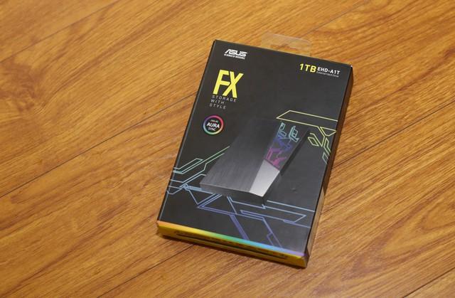 Đánh giá HDD Asus FX 1TB - Ổ cứng di động đẹp tuyệt, đem đi đâu copy game thì ai cũng phải nhìn - Ảnh 1.