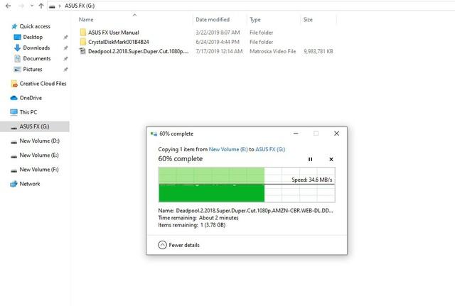 Đánh giá HDD Asus FX 1TB - Ổ cứng di động đẹp tuyệt, đem đi đâu copy game thì ai cũng phải nhìn - Ảnh 12.