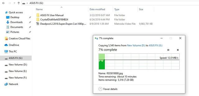 Đánh giá HDD Asus FX 1TB - Ổ cứng di động đẹp tuyệt, đem đi đâu copy game thì ai cũng phải nhìn - Ảnh 13.
