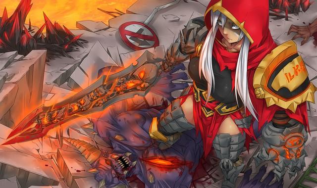 LMHT: Hàng loạt trang phục mới của Riot Games bị rò rỉ, Riven sẽ sở hữu trang phục Hàng Hiệu tiếp theo? - Ảnh 3.