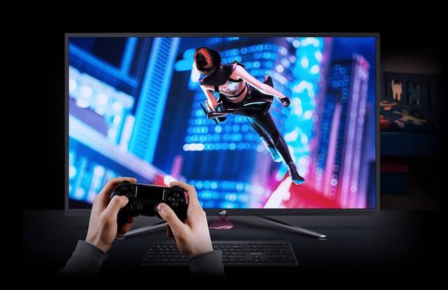 Asus giới thiệu mẫu màn hình khủng long chiến game bao phê ROG Strix XG438Q - Ảnh 2.