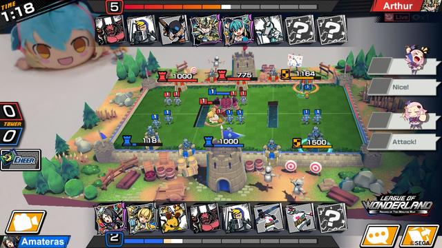 League of Wonderland - Game mobile chiến thuật thẻ bài phong cách anime của SEGA mở đăng ký - Ảnh 3.