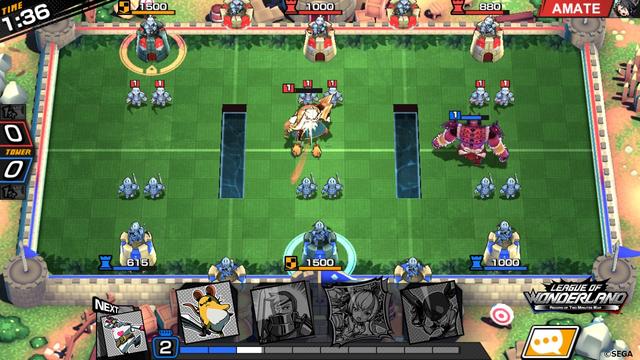 League of Wonderland - Game mobile chiến thuật thẻ bài phong cách anime của SEGA mở đăng ký - Ảnh 1.
