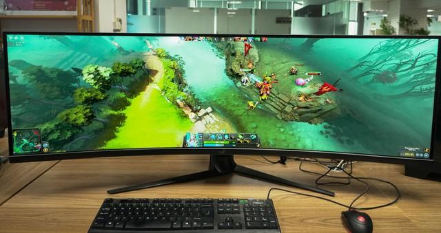 Trải nghiệm màn hình gaming Asus ROG Strix XG49V: Chơi trò gì cũng như đang hack map - Ảnh 15.