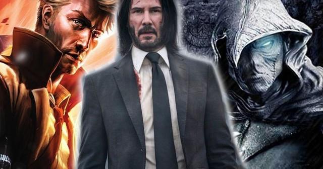 Đại chiến Marvel và DC chuẩn bị diễn ra khi 2 ông lớn đều tranh giành ngôi sao John Wich Keanu Reeves - Ảnh 2.