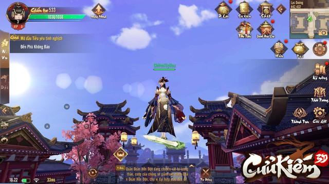 Lọt vào mắt xanh của cả Tencent lẫn SohaGame, đồ họa của Cửu Kiếm 3D khủng đến mức nào? - Ảnh 15.