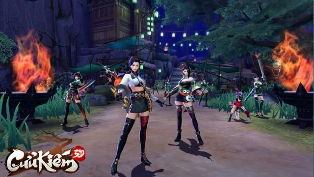 Lọt vào mắt xanh của cả Tencent lẫn SohaGame, đồ họa của Cửu Kiếm 3D khủng đến mức nào? - Ảnh 4.