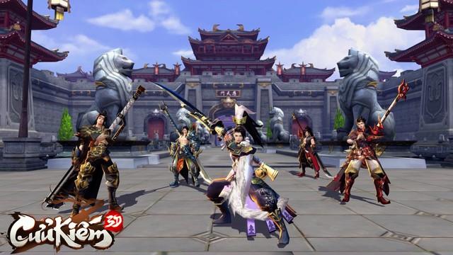 Lọt vào mắt xanh của cả Tencent lẫn SohaGame, đồ họa của Cửu Kiếm 3D khủng đến mức nào? - Ảnh 5.