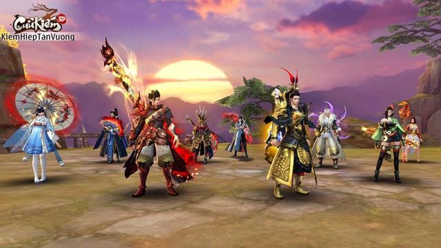 Lọt vào mắt xanh của cả Tencent lẫn SohaGame, đồ họa của Cửu Kiếm 3D khủng đến mức nào? - Ảnh 7.
