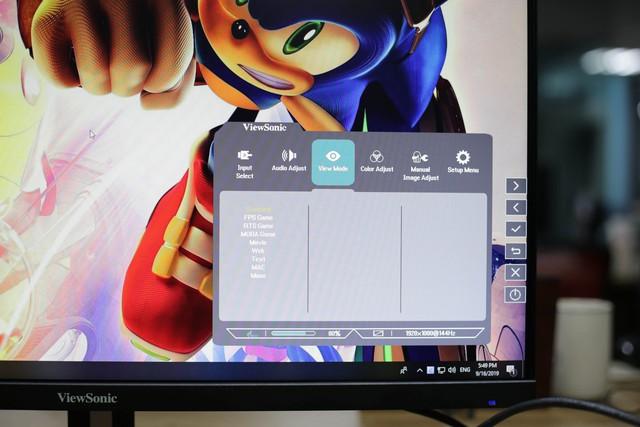 Trải nghiệm Viewsonic VX2758-P-MHD: Màn hình chơi game to, nhanh mà giá lại vừa phải chỉ 7 triệu đồng - Ảnh 6.