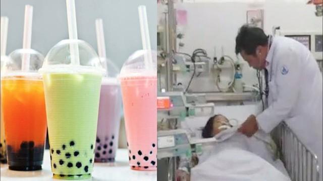 Một người bị suy gan thận nghi do ngộ độc trà sữa trân châu - Ảnh 1.