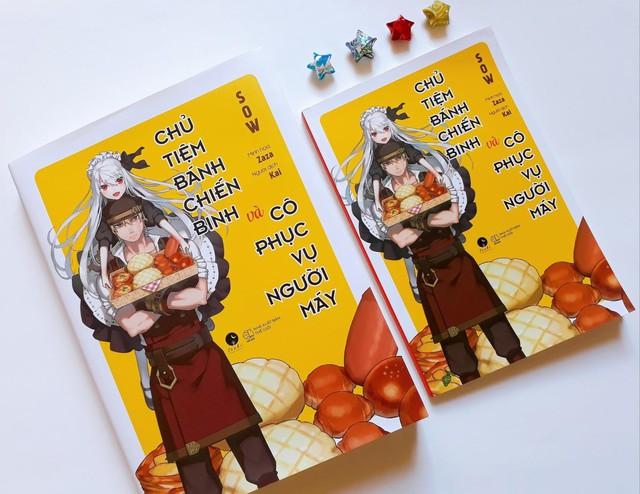 """Light Novel """"Chủ tiệm bánh chiến binh và cô phục vụ người máy"""" chính thức ra mắt với độc giả tại Việt Nam - Ảnh 4."""