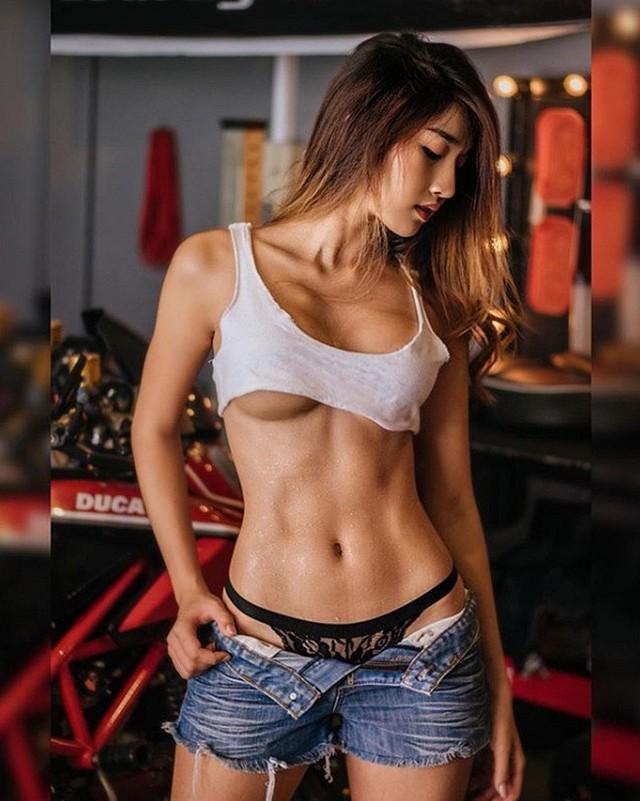 Gục ngã trước vòng một nảy nở của cô nàng hot girl thể thao nóng nhất Đông Nam á - Ảnh 15.