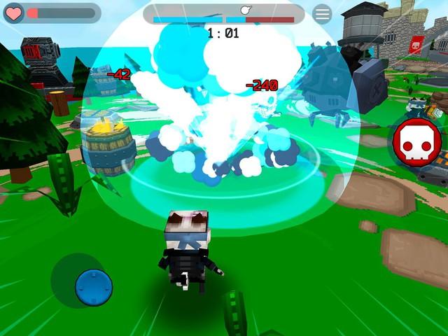 Fury Wars - Game bắn súng góc nhìn thứ ba cực vui nhộn với kho vũ khí siêu kỳ quái - Ảnh 2.