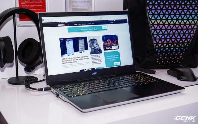 [CES 2020] Trên tay laptop gaming Dell G5 SE: Thiết kế hầm hố, linh kiện AMD 'lên ngôi'