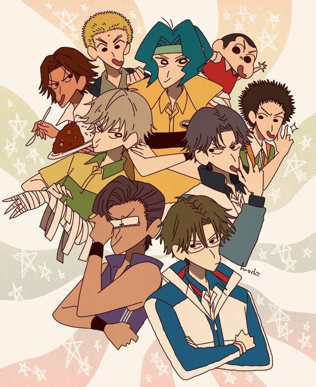 Từ Conan, One Piece tới Dragon Ball đều hóa Shin - Cậu bé bút chì qua bộ fan art vui nhộn - Ảnh 23.