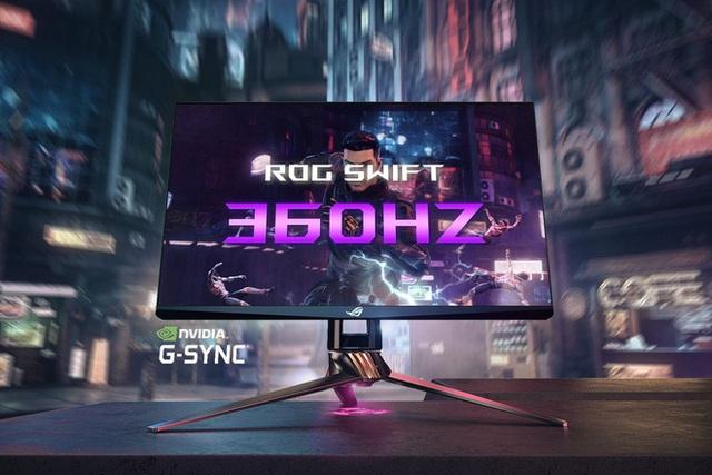 [CES 2020] Nvidia và Asus ra mắt màn hình 360Hz đầu tiên trên thế giới, dành riêng cho game thủ chuyên nghiệp - Ảnh 1.