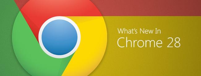 Google Chrome 28 - Phiên bản đầu tiên sử dụng nền tản Blink
