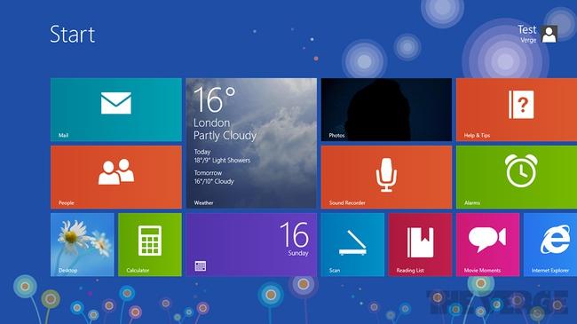 Lộ thêm ứng dụng mới trên Windows 8.1, Windows Store được thiết kế lại