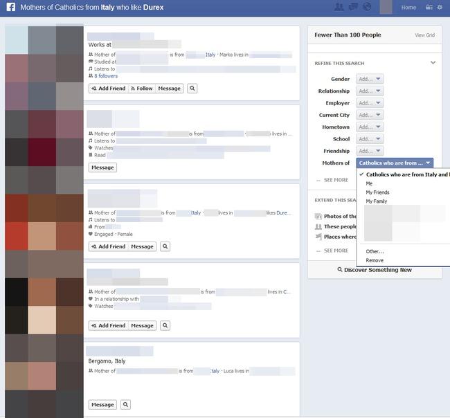 Graph Search - Tính năng tìm kiếm mới của Facebook: Đáng mừng, đáng lo hay.........đáng sợ?
