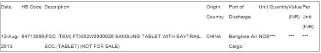 Samsung ấp ủ sản xuất tablet chạy chip Bay Trail hiệu năng khủng