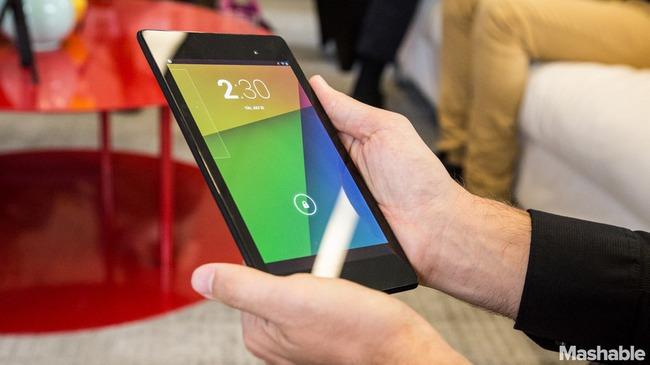 Tablet Nexus 7 2013 phiên bản 4G chính thức lên kệ, giá bán 7,4 triệu đồng