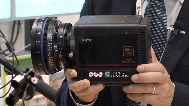 Nhà đài NHK của Nhật Bản phát triển thành công camera quay video 8K