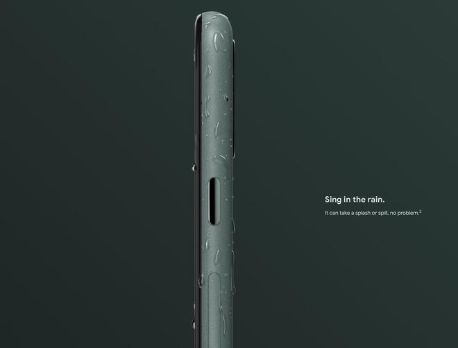 Pixel 5 ra mắt: Snapdragon 765G, camera kép, có kháng nước IP68, giá từ 699 USD - Ảnh 3.