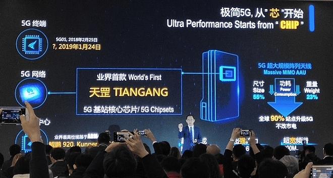 Mổ xẻ trạm gốc 5G Huawei mới thấy công ty Trung Quốc cần linh kiện Mỹ đến mức nào - Ảnh 1.