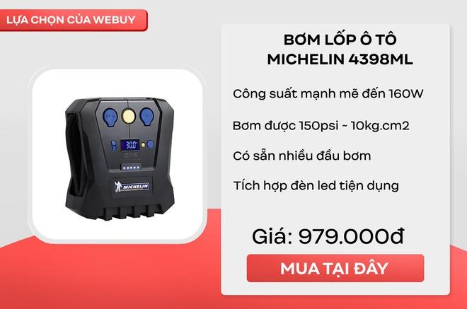 Trải nghiệm máy bơm lốp xe ô tô Michellin Mini 4399ML: cứ ngỡ kích thước phải cồng kềnh lắm, hóa ra chỉ bé xíu thế này - Ảnh 12.