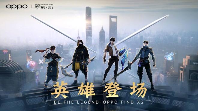 OPPO ra mắt Find X2 và OPPO Watch phiên bản Liên Minh Huyền Thoại, có SofM làm đại sứ thương hiệu cực ngầu - Ảnh 4.