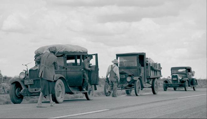 Sự kiện Dust Bowl: Cơn bão đen kéo dài 10 năm trên khắp Bắc Mỹ - Ảnh 2.