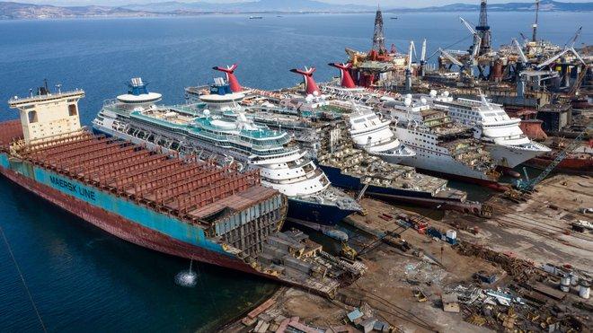 Gặp hạn vì Covid-19, các du thuyền trăm triệu USD bị rã xác bán sắt vụn - Ảnh 6.