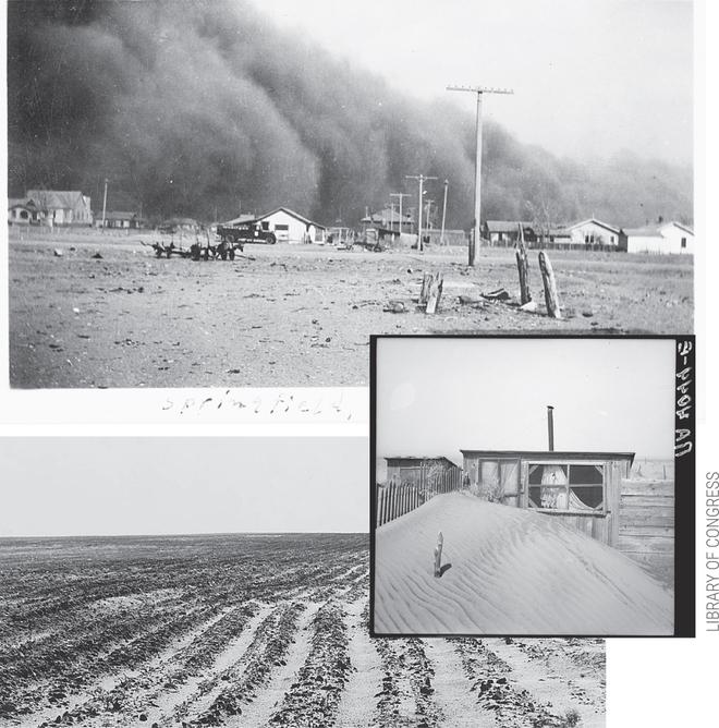 Sự kiện Dust Bowl: Cơn bão đen kéo dài 10 năm trên khắp Bắc Mỹ - Ảnh 5.