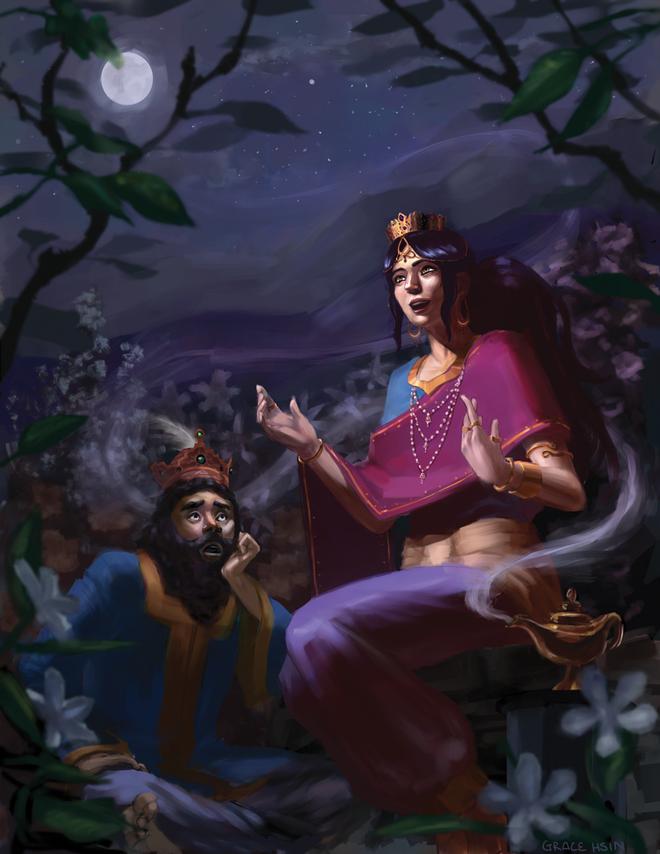 Ai đã tạo ra thế giới kỳ lạ của Nghìn lẻ một đêm? - Ảnh 4.