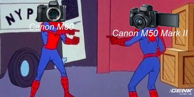 Canon vừa ra mắt máy ảnh EOS M50 Mark II nhưng hình như có gì đó hơi sai sai - Ảnh 1.