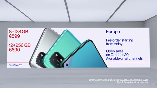 OnePlus 8T ra mắt: Màn hình 120Hz, Snapdragon 865, pin 4500mAh, sạc siêu nhanh 65W, giá 18.990.000 đồng - Ảnh 10.