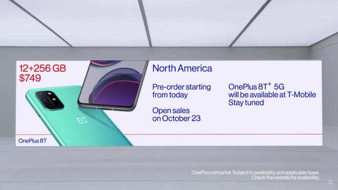 OnePlus 8T ra mắt: Màn hình 120Hz, Snapdragon 865, pin 4500mAh, sạc siêu nhanh 65W, giá 18.990.000 đồng - Ảnh 9.