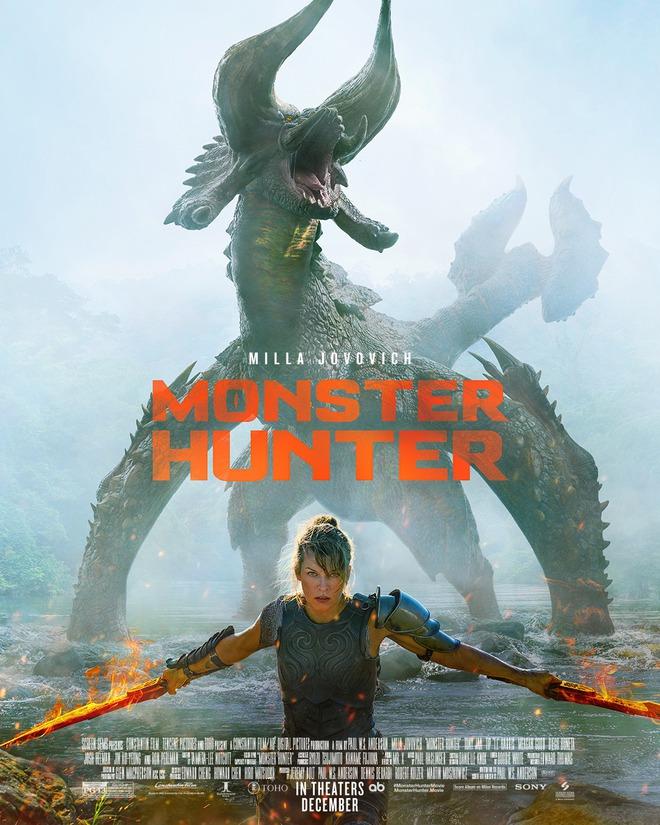 Trailer Monster Hunter lên sóng hé lộ dàn quái vật khổng lồ hung hãn, từ khủng long cát cho đến rồng lửa, đủ cả - Ảnh 4.