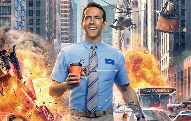 Trailer Free Guy lên sóng: Khi Ryan Reynolds vào vai NPC nổi loạn, quậy tưng bừng trong game khiến người chơi sợ xanh mặt - Ảnh 2.