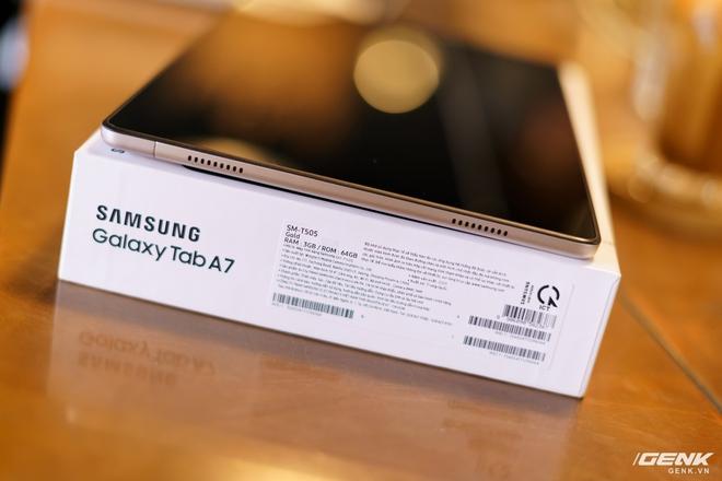Mở hộp Samsung Galaxy Tab A7: thiết kế pha lẫn hoài cổ và hiện đại, loa là điểm mạnh - Ảnh 12.