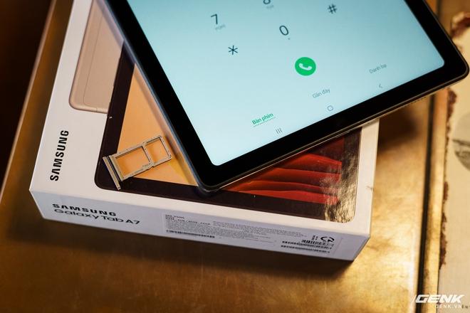 Mở hộp Samsung Galaxy Tab A7: thiết kế pha lẫn hoài cổ và hiện đại, loa là điểm mạnh - Ảnh 14.