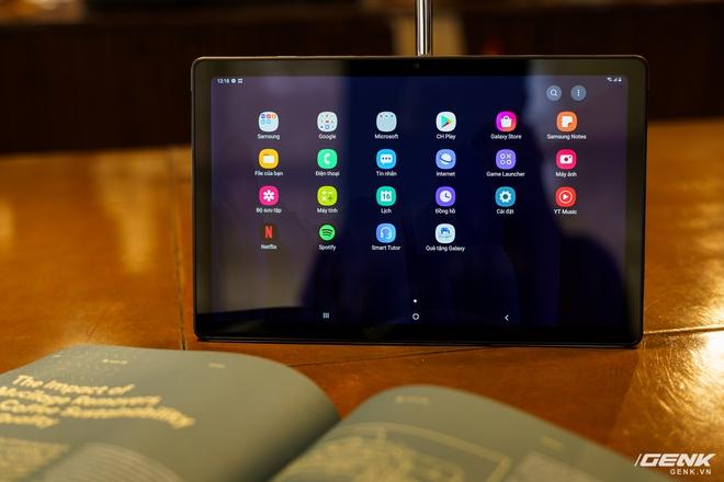 Mở hộp Samsung Galaxy Tab A7: thiết kế pha lẫn hoài cổ và hiện đại, loa là điểm mạnh - Ảnh 22.