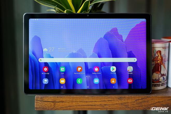 Mở hộp Samsung Galaxy Tab A7: thiết kế pha lẫn hoài cổ và hiện đại, loa là điểm mạnh - Ảnh 17.