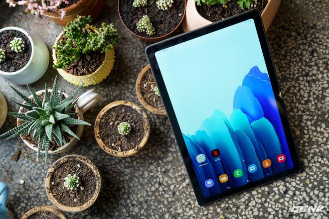 Mở hộp Samsung Galaxy Tab A7: thiết kế pha lẫn hoài cổ và hiện đại, loa là điểm mạnh - Ảnh 19.