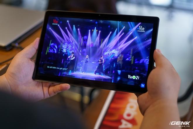 Mở hộp Samsung Galaxy Tab A7: thiết kế pha lẫn hoài cổ và hiện đại, loa là điểm mạnh - Ảnh 15.