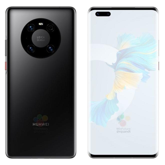 Huawei Mate 40 Pro lộ ảnh render: Cụm camera mới, chip Kirin 9000, sạc 65W - Ảnh 5.